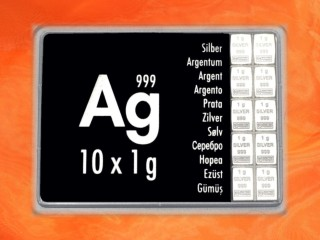 10 g silver gift bar Ag international