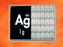 25 g silver gift bar Ag international