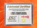 2 g gold gift bar motif: Geschafft