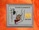 2 g gold gift bar motif: Zur Taufe