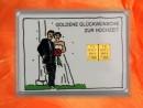 2 g gold gift bar motif: Hochzeit Brautpaar
