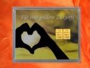 2 g gold gift bar motif: golden future