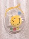 2 g gold gift bar motif: golden futur in gift ball /...