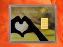 1/10 oz. gold gift bar motif: golden future