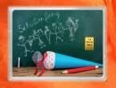 1 Gramm Gold Geschenkbarren Motiv: Schulanfang Einschulung