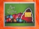 2 Gramm Gold Geschenkbarren Motiv: Weihnachten Merry...