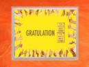 2 g gold gift bar flip motif: Gratulation Geschafft