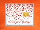 2 g gold gift bar flip motif: Love is in the air