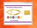 2 Gramm Gold Geschenkbarren Motiv: Firmung
