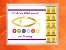 10 Gramm Gold Geschenkbarren Motiv: Firmung