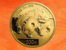 1/2 oz. China Panda gold coin 2008