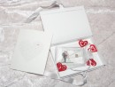 1 g gold gift bar motif: Hochzeit Brautpaar with...
