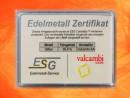 1 g silver gift bar motif: Geschafft