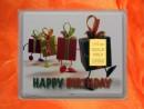 1/10 Unze Gold Geschenkbarren Geburtstag Motiv: Happy...