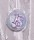 1 g gold gift bar motif: Happy Birthday candles in gift ball / globe handmade decorated 18th birthday