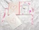 1 g gold gift bar Zur Geburt for girls in decorated gift...