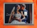 1 g silver gift bar motif Hochzeit Brautpaar Kuss