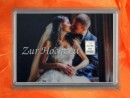 1 Gramm Silber Geschenkbarren Hochzeit Brautpaar Kuss