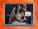 2 g silver gift bar motif Hochzeit Brautpaar Kuss