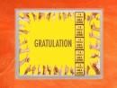 5 g gold gift bar flip motif: Gratulation Geschafft