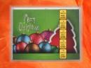 2 g gold gift bar motif: Merry Christmas