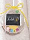 1 g gold gift bar Gratulation exam in gift ball / globe...