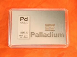 2 g Palladium gift bar