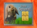 1 g gold gift bar motif: Frohe Ostern