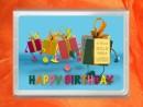 1 g gold gift bar flipmotif: Happy birthday gift