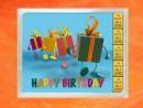 5 Gramm Gold Geschenkbarren Geburtstag FlipMotiv: Happy...