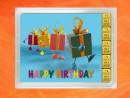 5 g gold gift bar flipmotif: Happy birthday gift