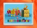 4 g gold gift bar flipmotif: Happy birthday gift