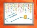 1 g gold gift bar motif: Alles Liebe zur Jugendweihe