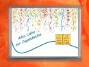 2 g gold gift bar motif: Alles Liebe zur Jugendweihe