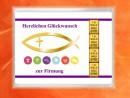 4 Gramm Gold Geschenkbarren Motiv: Firmung