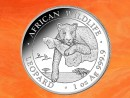 1 oz. Somalia Leopardt African Wildlife silver coin 2020...