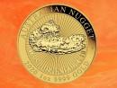 1 Unze Australian Nugget - Hand of Faith - Goldmünze...