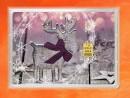 1g gold gift bar flip motif: Merry Christmas reindeer