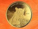 1 Unze African Leopard Goldmünze PP Ghana 2020...
