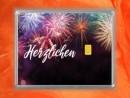 0,5 Gramm Gold Geschenkbarren Flipmotiv: Herzlichen...