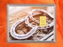 1/10 oz. gold gift bar flipmotif: Viel Glück horseshoes
