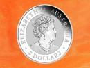 2 oz.  Australian Nugget - Hand of Faith -  silver coin...
