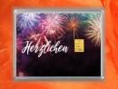 1 g gold gift bar flipmotif: Herzlichen Glückwunsch