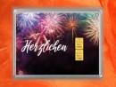 2 g gold gift bar flipmotif: Herzlichen Glückwunsch