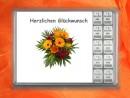 10 g silver gift bar Herzlichen Glückwunsch bunch of...