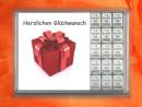 15 g silver gift bar Herzlichen Glückwunsch gift