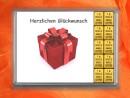 10 g gold gift bar Herzlichen Glückwunsch gift