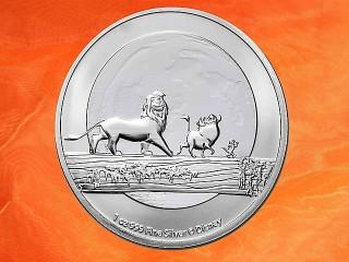 1 oz. Disney™ Lion King™ Hakuna Matata™ silver coin Niue 2021 (mintage 25.000)