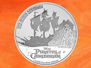1 oz. Pirates of the Caribbean™ The Flying Dutchman™ silver coin Niue 2021 (mintage 15.000)