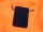 Samtbeutel 85 x 120 mm dunkelblau